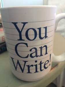 You Can Write! Mug Image